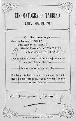 Biblioteca Digital de Castilla y León > Corridas toreadas