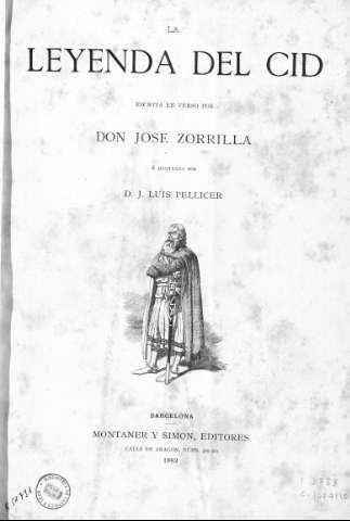 Biblioteca digital de castilla y le n la leyenda del cid for La leyenda del cid